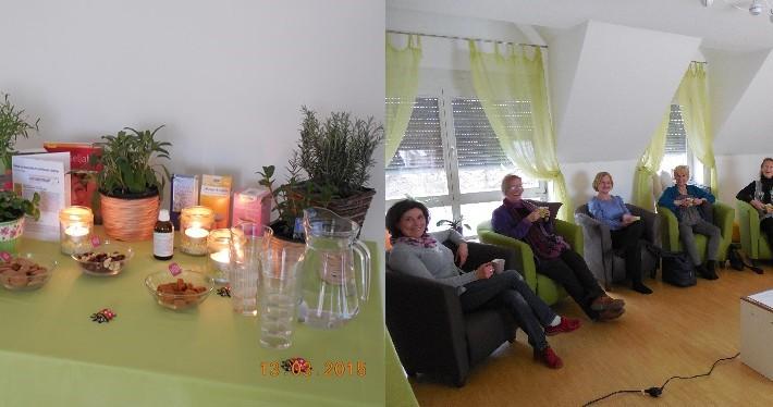 """Eindrücke von unserem Workshop zum Thema """"Tanz der Hormone – Gut durch die Wechseljahre"""" in Neumarkt."""