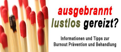 Vortrag zum Thema Burnout in Neumarkt